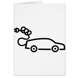 Electric Car Card