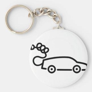 Electric Car Keychain