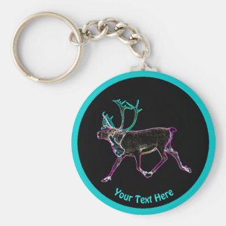 Electric Caribou Keychain