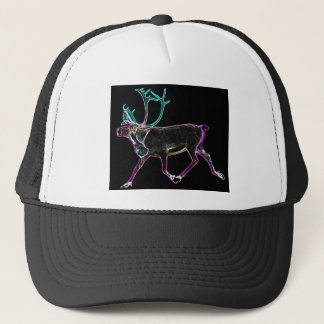 Electric Caribou Trucker Hat