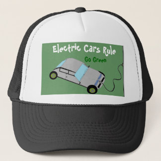 Electric Cars Rule Trucker Hat