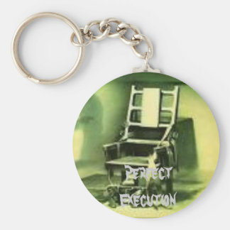 electric chair, Perfect Execution keychain