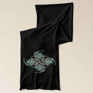 Electric Chinese Star Scarf
