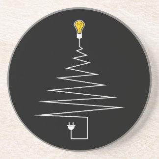 Electric Christmas tree Coaster