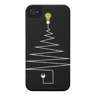 Electric Christmas tree iPhone 4 Case-Mate Cases