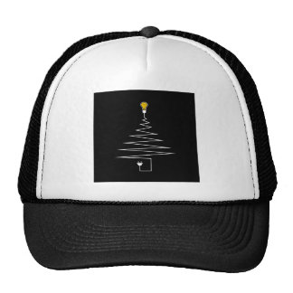 Electric Christmas tree Trucker Hat