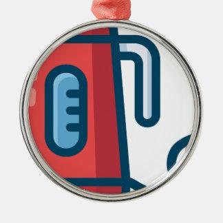 Electric Coffee Pot Metal Ornament