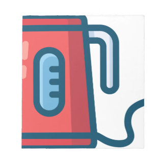 Electric Coffee Pot Notepad