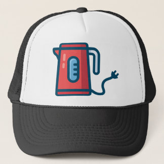 Electric Coffee Pot Trucker Hat