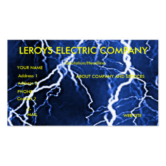 Electric Comany Business Card