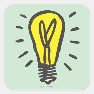 Electric Company Square Sticker
