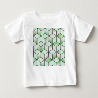 Electric Cubic Knited Effect Design Baby T-Shirt