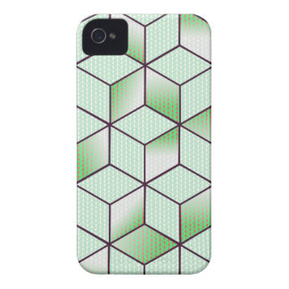 Electric Cubic Knited Effect Design iPhone 4 Cases