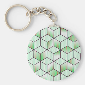 Electric Cubic Knited Effect Design Keychain