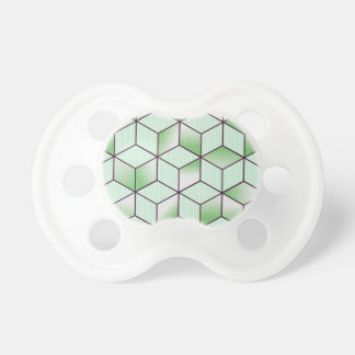 Electric Cubic Knited Effect Design Pacifier