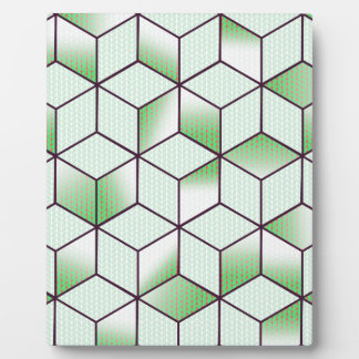 Electric Cubic Knited Effect Design Plaque