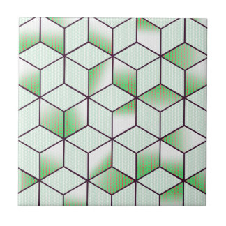 Electric Cubic Knited Effect Design Tile