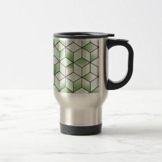 Electric Cubic Knited Effect Design Travel Mug
