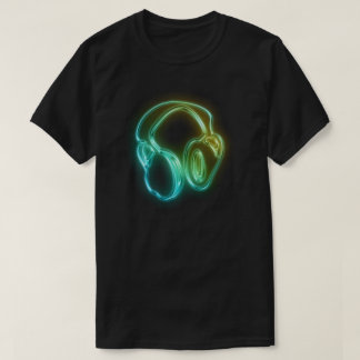 Electric DJ Headphones T-Shirt