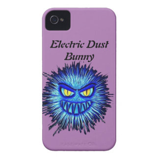 Electric Dust Bunny iPhone 4 Case-Mate Case