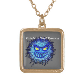 Electric Dust Bunny The Coal Blacks Part 2 Gold Plated Necklace
