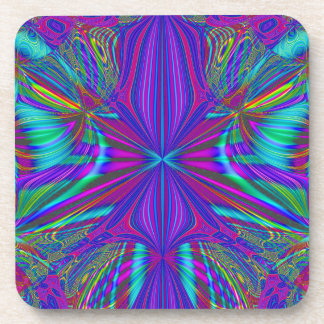 Electric Eclectic Beverage Coasters