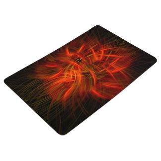 Electric Flower Floor Mat