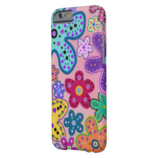 Electric Flower Pattern  iPhone 6 case
