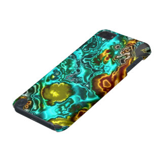 electric fractal 2 iPod touch (5th generation) cover