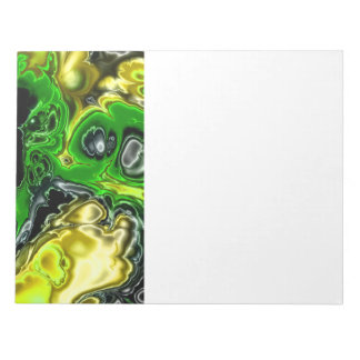 electric fractal 4b notepad