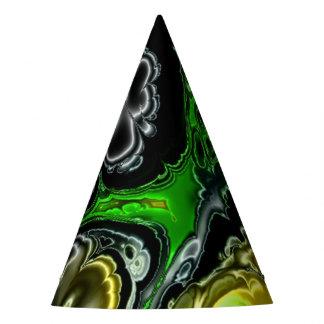 electric fractal 4b party hat