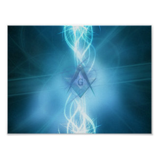 Electric Freemason Poster
