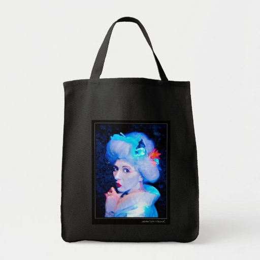 Electric Geisha Grocery Tote Bag