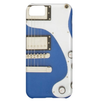 Electric Guitar Abstract Art Phone Case Vintage
