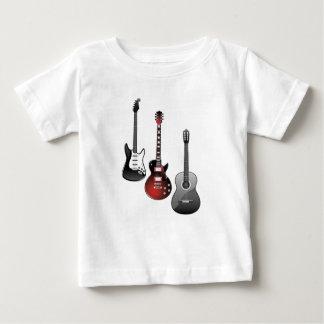 electric guitar, acoustic guitar baby T-Shirt