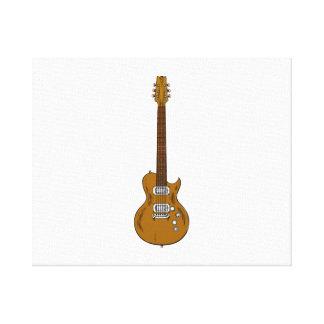 Electric Guitar Canvas Print