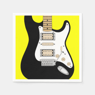 Electric Guitar Disposable Napkins