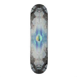 Electric Guitar Flames Skate Board