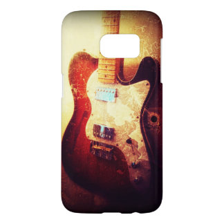 Electric guitar funky rock music phone case