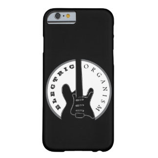 Electric Guitar Hard Rock Music Cool Black Modern Barely There iPhone 6 Case