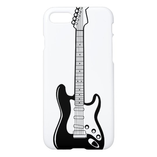 Electric Guitar iPhone 7 Glossy Case