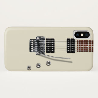 Electric Guitar iPhone X Case