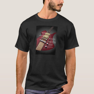 electric guitar layout T-Shirt