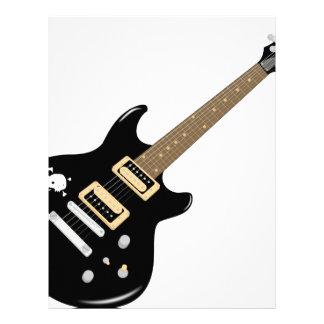 Electric Guitar Letterhead