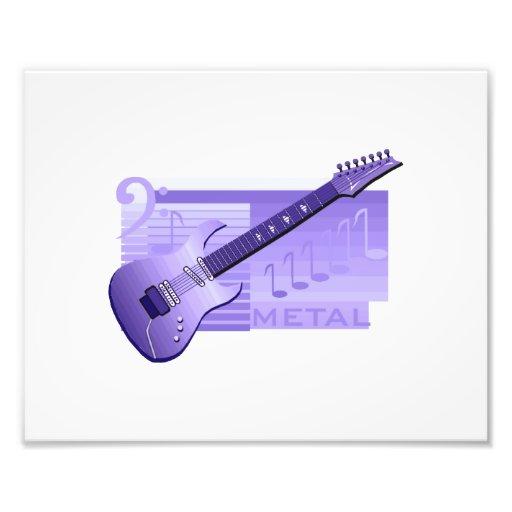 electric guitar metal purple.png photo