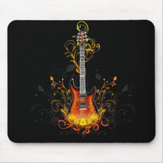 Electric Guitar Mouse Pad