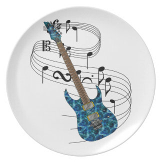 Electric Guitar Plate