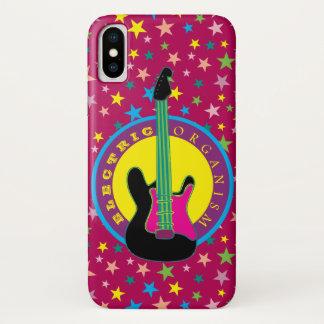 Electric Guitar Rock Music Star Vibrant Colors Hot Case-Mate iPhone Case