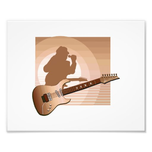 electric guitar singer orange.png photograph