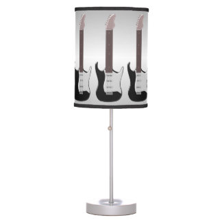Electric Guitar Table Lamp